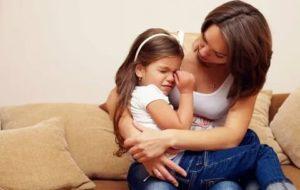 Дочь постоянно плачет