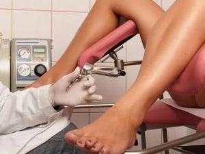 Боль при осмотре у гинеколога