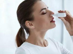 Всасываются капли для носа в кровь?