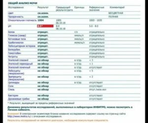 Следы гемоглобина в анализе мочи у ребенка