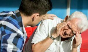 Тошнота у пожилого человека