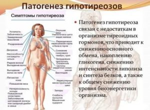 Гипотиреоз у кормящей женщины