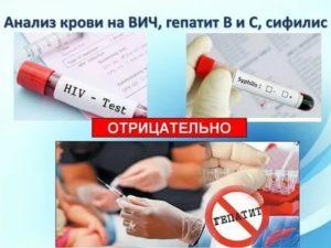Кровь на ВИЧ и сифилис сдают натощак?