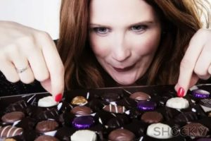 Проблема после проглатывания конфеты