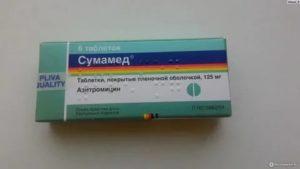 После приема препарата Сумамед понос