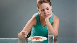 Резкая слабость после еды