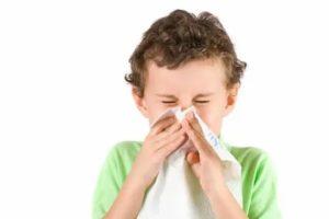 У ребенка заложен нос, может ли быть аллергия на мышей?