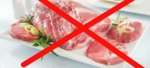 Не могу употреблять в пищу мясо