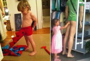 Ребенок трогает половые органы
