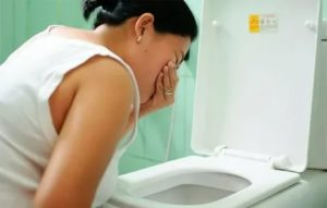 Вызвать рвоту при беременности