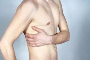 Дискомфорт на коже в области ребер