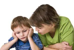 Ребёнок не хочет разговаривать