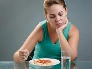 Пониженное давление, запоры, чувство голода