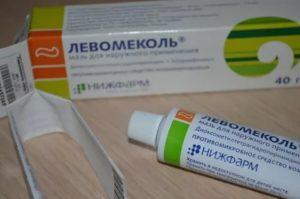 Левомеколь при аллергии на левомицетин