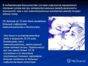 Боюсь заражения сифилисом от мужа