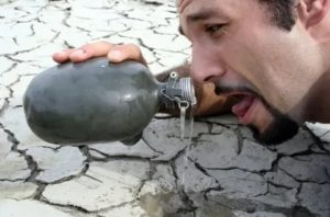 Мучает жажда