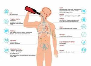 Влияет ли алкоголь на мазок?