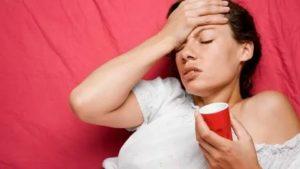 После отравления остается слабость и тошнота