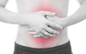 Лечение бронхита, острая боль в животе