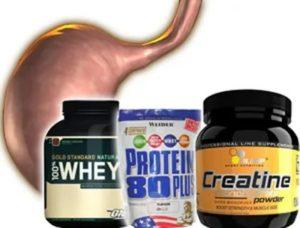 При язве можно пить протеины?